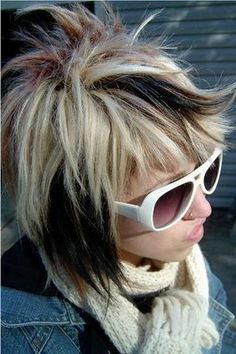 Image detail for -Edgy Hair Color,Winter haircolor Trends, Gwen Stefan,i Medium ...