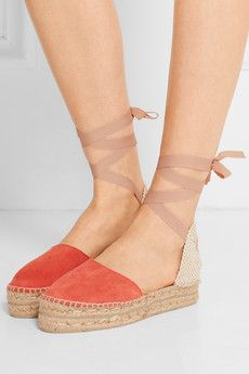 21a080c86099 Hamptons suede espadrilles Top Designer Brands, Designer Shoes, Net A  Porter, The Hamptons