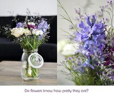 brautstrauss blau weiss Feldblumen
