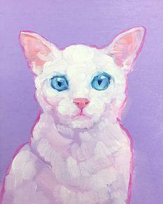 Aesthetic Painting, Aesthetic Art, Arte Hippy, Animal Drawings, Art Drawings, Mini Canvas Art, Pretty Art, Art Sketchbook, Portrait Art