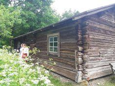 Lempäälän museoraitti 1830-luvun pirtti.