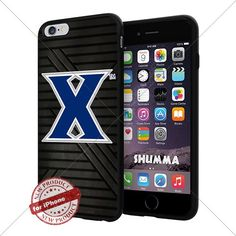 "NCAA-Xavier Musketeers,Cool iPhone 6 Plus (6+ , 5.5"") Smartphone Case Cover Collector iphone TPU Rubber Case Black SHUMMA http://www.amazon.com/dp/B01372AH9G/ref=cm_sw_r_pi_dp_g2Opwb18FDB3B"