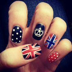 British nail art