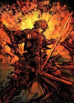 Tags: Sketch, Pixiv, Drifters (Manga), Shimazu Toyohisa, Moto Murabito