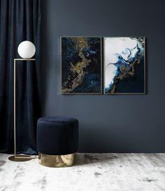 Blue Gold – 50x70Blue Tide – 50x70...