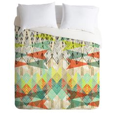 DENY Designs Home Accessories | Pattern State Arrow Dawn Duvet Cover