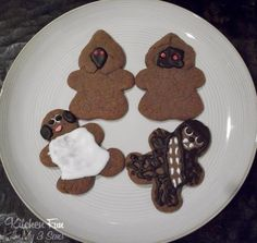 Kitchen Fun With My 3 Sons: Star Wars Gingerbread Men
