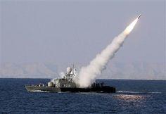 Il lancio di un missile da una nave (Foto: Infophoto)
