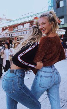 36 Ideas Quotes Friendship Bff Happy For 2019 Best Friends Sister, Cute Friends, Best Friends Forever, Bff Pictures, Best Friend Pictures, Friend Photos, Gabby Epstein, Best Friend Fotos, Denim Look