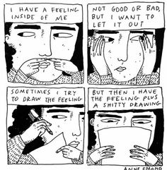 Anyone else relate to this? I feel like this all the time as an infp trying to express myself Motivacional Quotes, Poesia Visual, Vent Art, Illustration Art, Illustrations, A Silent Voice, Art Inspo, Cool Art, Doodles