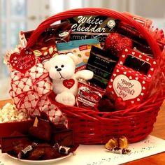 289 Best Valentines Day Basket Images Valentine Baskets