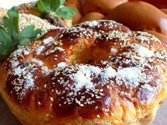 Moje losy w Bułgarii: Kozunak - obowiązkowy przysmak wielkanocnego stołu Bagel, Bread, Food, Brot, Essen, Baking, Meals, Breads, Buns