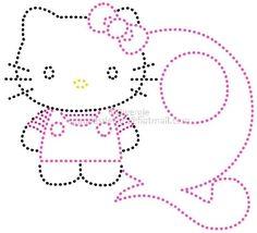 q   Alfabet Hello Kitty by Dwergje   glittermotifs