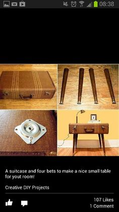 Furniture Legs San Diego the real housewife ofsan diego!: suitcase bench and side table