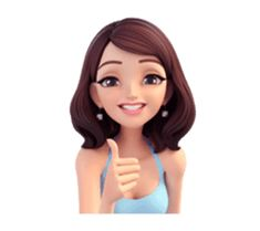 Summer by Yinxuan Li Dezarmenien sticker Cute Cartoon Pictures, Cute Cartoon Girl, Cartoon Gifs, Cute Cartoon Wallpapers, Emoji Stickers, Cute Stickers, Birthday Wishes Flowers, Girl Cartoon Characters, Girl Emoji