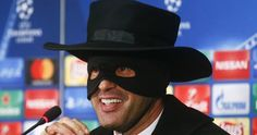 mananger kept to his word after they beat Man City in the last round of the group stages of the Have you made a bet and had to dress up for it? Share and comment below. Pep Guardiola, Manchester City, Daily News, Champions League, Victorious, Beats, Dress Up, Group, Costume