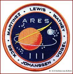 Martian Movie Space Exploration Unknown Universe Endurance Crew Uniform Patch