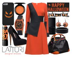 """""""happy halloween"""" by j-n-a ❤ liked on Polyvore featuring Oasis, NARS Cosmetics, Caroline De Marchi, Sixtrees, Crayo, Carvela Kurt Geiger, Lattori, Maybelline and MAC Cosmetics"""