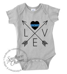 Southern Charm Designs - Love Arrow Cross Infant - LEO, $17.00 (http://www.shopsoutherncharmdesigns.com/love-arrow-cross-infant-leo/)