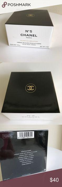 Chanel No 5 velvet body cream 5oz.  New! Chanel No 5 velvet body cream 5oz.  New!  Original packaging CHANEL Makeup