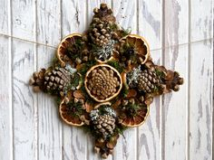 Crafting with Pinecones. Pine cone craft inspiration and ideas.