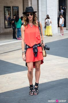 Loving this LA-chic look on @Tobruck Ave at #NYFW on @Guest of a Guest #mbfw