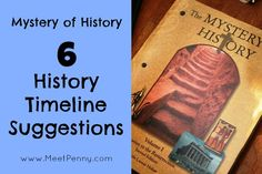 6 ideas for creating history timelines to help learners understand the sequence and significance of historical events at www.MeetPenny.com