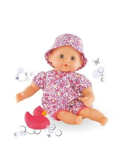 Buy Corolle Mon Premier Bebe Bath Floral Blooml Baby Doll- Specially designed for bathtime play, Corolle's Bébé Bath Floral Bloom Baby Doll floats! Best Toddler Toys, Toddler Age, Pyjama Panda, Bath Doll, Floral Bath, Bloom Baby, Panda Party, Baby Doll Accessories, Diy Bebe
