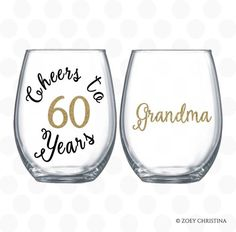 Cheers To 50 Years Birthday Gift For Women Wine Glass Name Included Party Favors