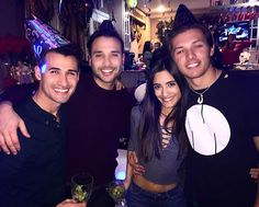 Leo Howard @whoisleo New Years with so...Instagram photo | Websta (Webstagram)