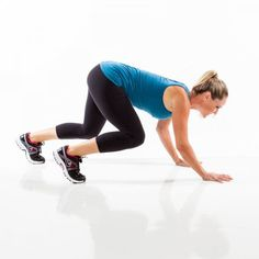 This no-equipment workout targets your lower abs while also engaging every major muscle group to maximize your burn.