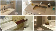 modelos de cuba escavada com rampa Cuba, Corner Bathtub, Alcove, Sink, Bathroom, Home Decor, Hidden Places, Entry Hallway, Bamboo Structure