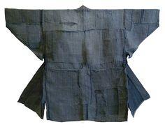 A Very Patched Boro Hemp Jacket: Subtle Blue Grey