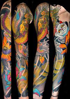 Colour sleeve