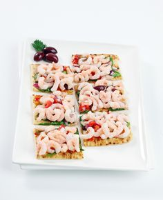 Clearwater Grilled Shrimp Flatbread
