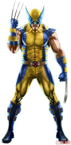 Wolverine in Marvel Puzzle Quest