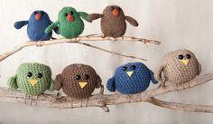Birds knit & crochet