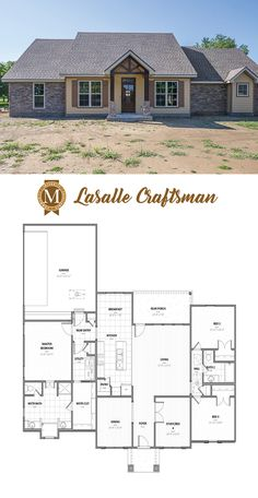 Lasalle Craftsman Collection Is A Floor Plan From Builder Manuel Builders Developed For Our New Homes In Lafayette And Lake Charles La