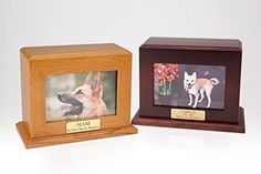 Ever My Pet Framed Photo Pet Urn Horizontal Large ** Click image for more details. (This is an affiliate link and I receive a commission for the sales) Dog Urns, Pet Cremation Urns, Pet Ashes, Pet Bag, Pet Photographer, Cat Memorial, Cat Accessories, Large Animals, Your Pet