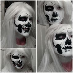 Silver Banshee Test Makeup 1 by ComicChic19 on DeviantArt