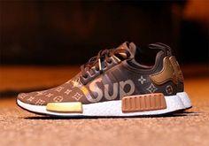 Supreme Louis Vuitton Adidas NMD custom - sneaker news, info & exclusive updates {Adidas, Asics, Converse, New Balance, Nike, Puma, Reebok, Saucony, Vans, ...}