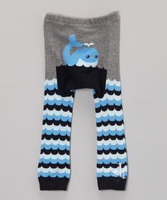 Take a look at this Gray Whale Leggings by Doodle Pants on #zulily today!