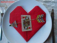 i pasticci di dani: un messaggio d'amore segnaposto per San Valentino - tutorial