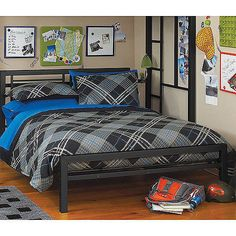 Beds and Bed Frames 175758: Your Zone Metal Platform Bed Frame With Headboard Footboard Twin Full New -> BUY IT NOW ONLY: $128.25 on eBay!