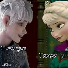 I love them so much!!! <3 <3 #jelsa #rotg #frozen