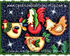 CC122 Gatitos de Wynter pintura patrón por CyndiCombsDesigns