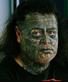 Mongrel Strange People, Crazy People, Biker Clubs, Motorcycle Clubs, Foot Tattoos, Body Art Tattoos, Haka New Zealand, Real Gangster, Dark Art Tattoo