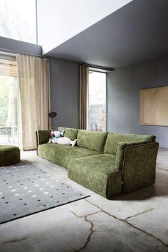 Ecksofa luxus  Das Kubi Sofa von Novamobili ist eine bequeme minimalistische ...