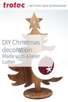 DIY laser projects for christmas Wooden Christmas Decorations, Christmas Diy, Trotec Laser, Navidad Diy, Laser Machine, Create Your Own, Place Card Holders, Symbols, Projects