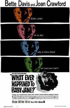 4/4/14  5:25p  Warner Bros/Seven  Arts ''What Ever Happened to Baby Jane?''   Bette Davis Joan Crawford   Released: 10/16/1962 Bette Davis 10th Oscar Nom  Bette Davis 72nd Film